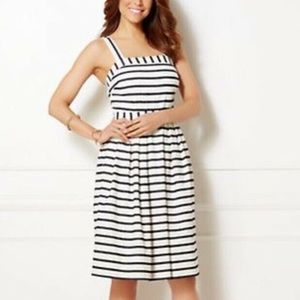 Eva Mendes New York & Co. Striped Dress